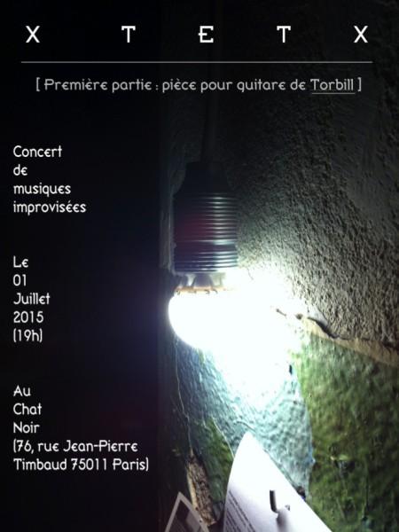 XtetX en concert - le 01 Juillet 2015 - au Chat Noir v4
